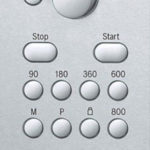 Bosch HMT75M451 Bedienelemente